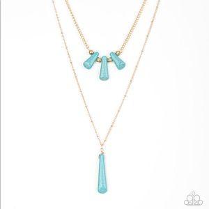 Basic Groundwork Blue necklace